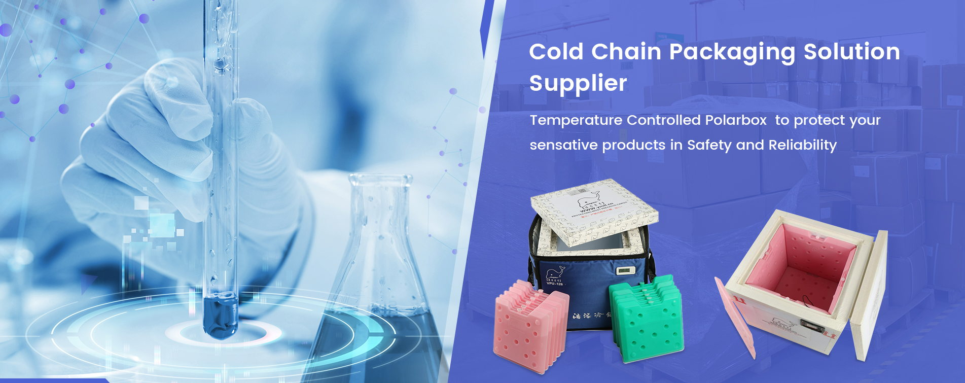 Cold Chain Packing Soultion Supplier